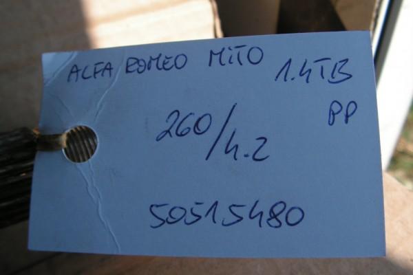 Alfa Romeo Mito Pravy Predny Poloos