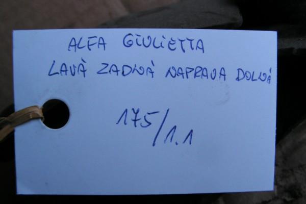 Alfa Romeo Giulietta Lave Zadne Dolne Rameno