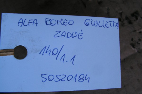 Alfa Romeo Giulietta Zadny Tlmic