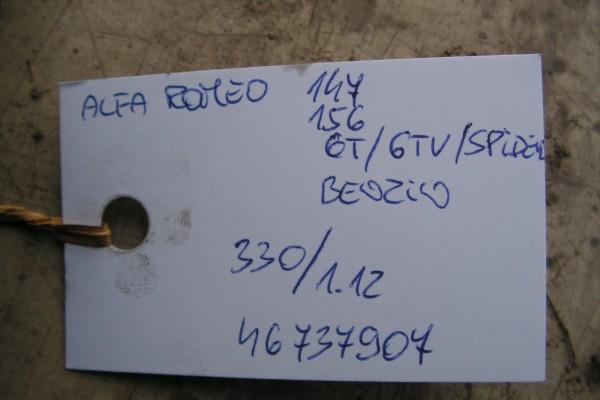 Alfa Romeo 147/156/GTV/GT Servocerpadlo:46737907
