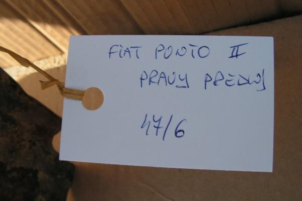 Fiat Punto II Pravy Predny Modry  Blatnik