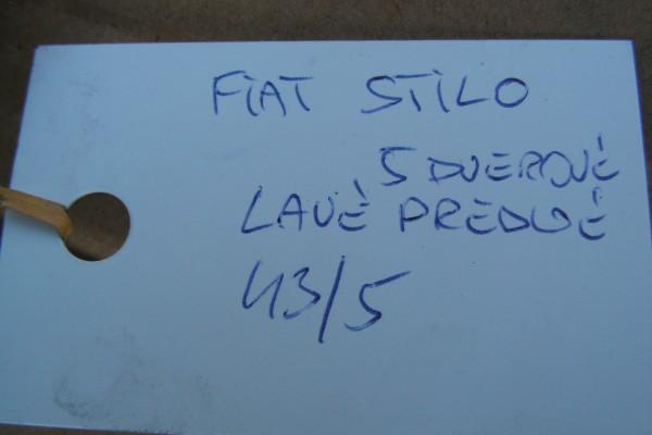 Fiat Stilo Lavy Predny Modry Blatnik