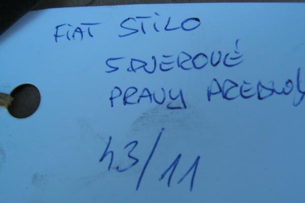 Fiat Stilo Pravy Predny Modry Blatnik