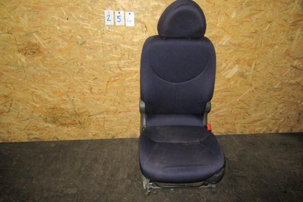 Fiat Multipla Stredne Zadne Modre Sedadlo 254