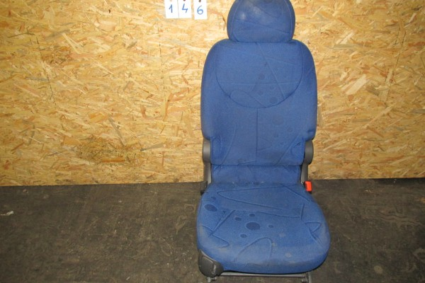 Fiat Multipla Zadné Pravé Sedadlo Modré 146