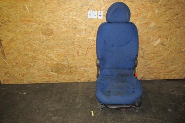 Fiat Multipla Zadné Stredné Sedadlo Modrá 144