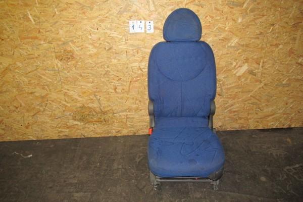 Fiat Multipla Zadné Lavé Sedadlo Modrá 143