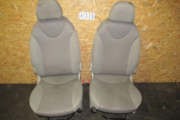 Fiat Idea Sedačky Svetlo Sivé 139