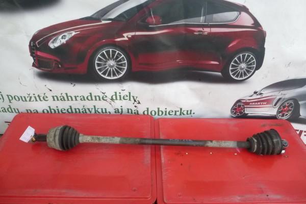 Fiat Multipla 1.6 benzin poloos prava strana