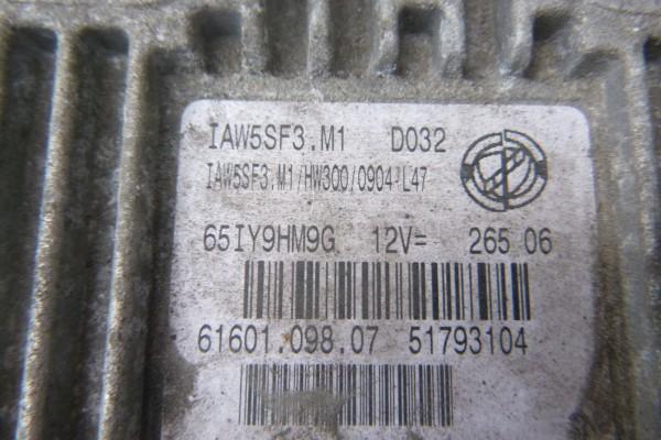 Fiat Grande Punto 1.2Benzin Riadiaca Jednotka Motora 51793104