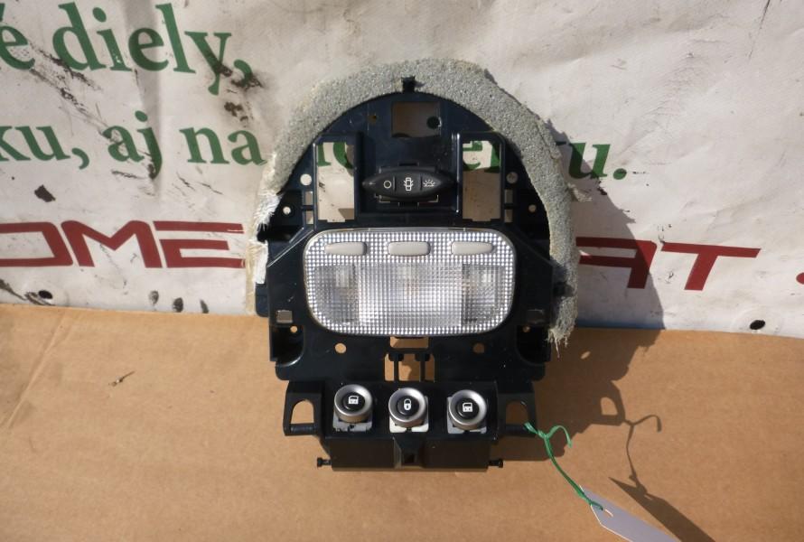 Lancia Phedra vnutorne osvetlenie