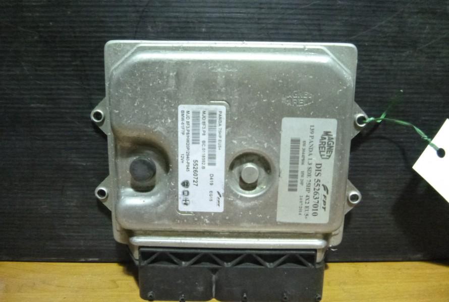 Fiat Panda3 1.3jtd  Riadiaca Jednotka Motora 55260727