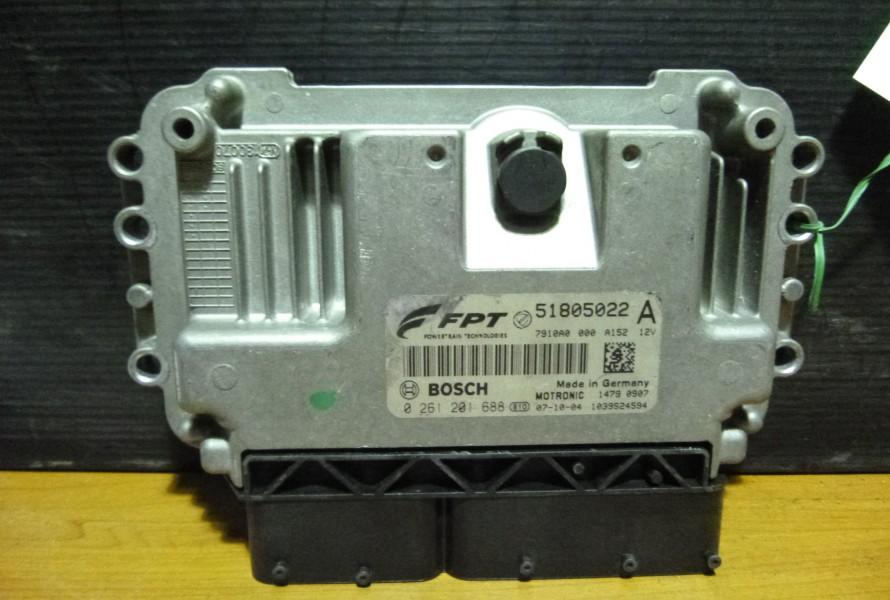 Fiat Bravo 2 1.4Tjet  Riadiaca Jednotka Motora 51805022
