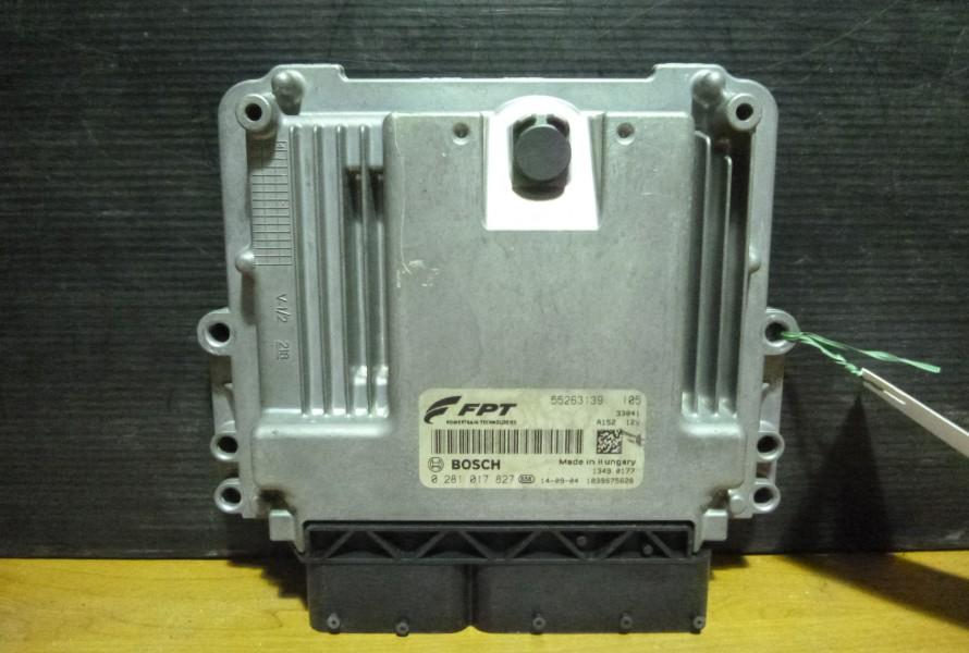 Fiat 500L 1.6jtd Riadiaca Jednotka Motora 55263139