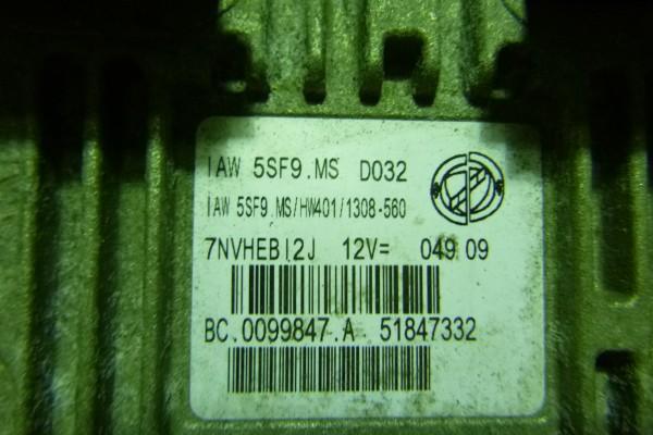 Fiat 500 1.4benzin riadiaca jednotka motora 51847332
