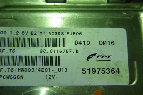 Fiat 500 1.2Benzin  riadiaca jednotka motora 51975364