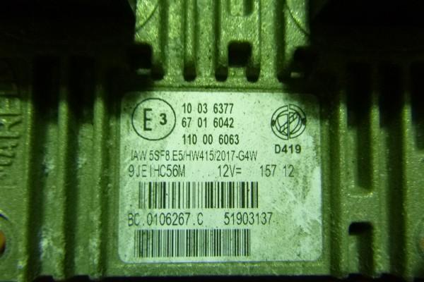 Lancia Musa 1.4benzin  riadiaca jednotka motora 51903137