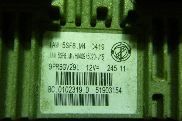 Fiat Panda2 1.1 riadiaca jednotka motora 51903154