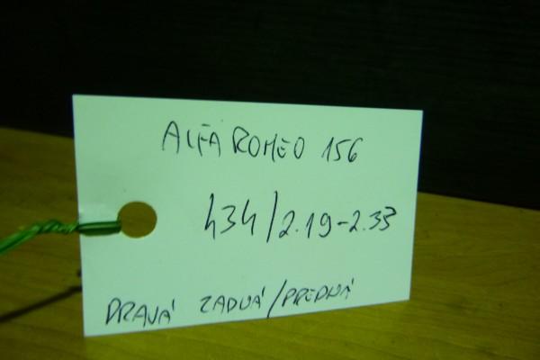 Alfa romeo 156 prava zadna/predna vnutorna klucka