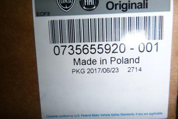 Fiat 500 2015 Pravy Predny Novy Bezpecnostny Pas 735655920