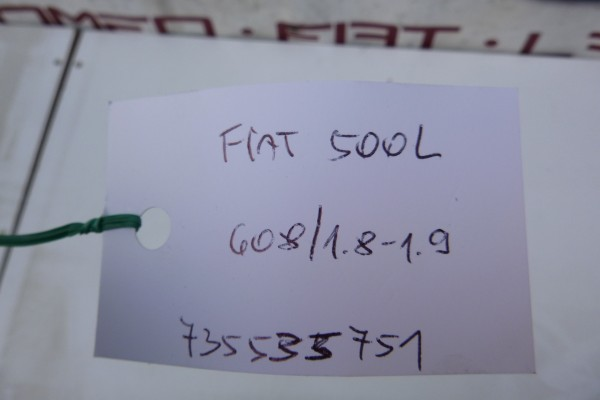 Fiat 500L kryt reproduktora 735535751