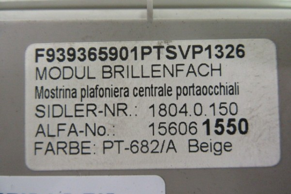 Alfa Romeo 159 Drziak Okuliarov 156061550