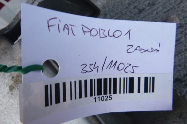 Fiat Doblo 1 Zadna Vystuha Naraznika
