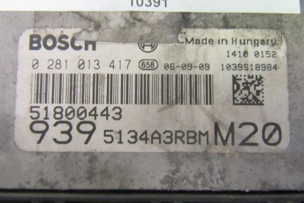 Alfa Romeo 159 2.4jtd riadiaca Jednotka Motora 51800443