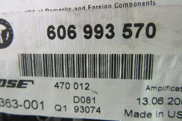 Alfa romeo gt zosilnovac bose 606993570