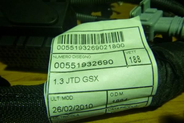 Fiat Punto 3,1.3jtd kabelaz motora 55193269