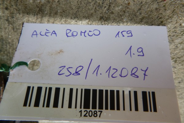 Alfa Romeo 159 1.9 8v pravy poloos