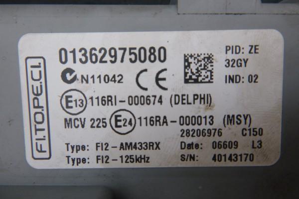 Fiat Qubo 1.3Diesel Riadiaca Jednotka motora 51846262