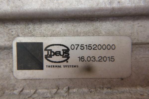 Alfa romeo giulietta 2.0jtdm intercooler 75152000