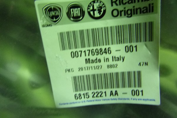 Alfa romeo giulietta novy kryt reproduktota/lave predne dvere 71769846