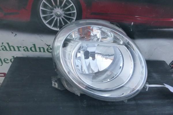 Fiat 500 poskodene prave predne svetlo 45540748