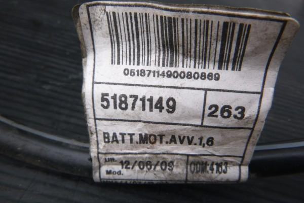 Fiat Doblo 3 Minusovy kabel baterky 51871149