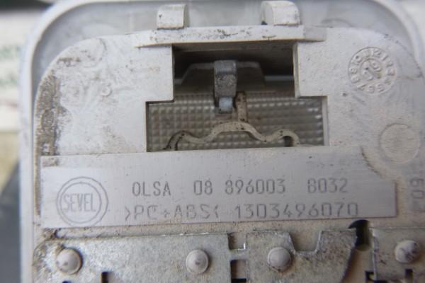 Fiat Doblo 3 zadne stropne svetlo 1303496070