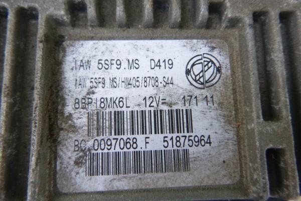 Fiat 500 cabrio benzin riadiaca jednotka motora 51875964