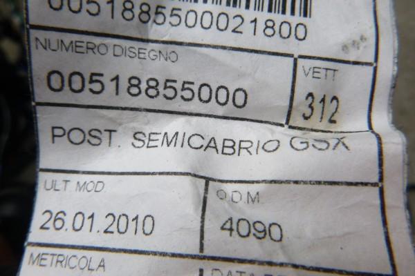 Fiat 500 cabrio kabelaz 518855000