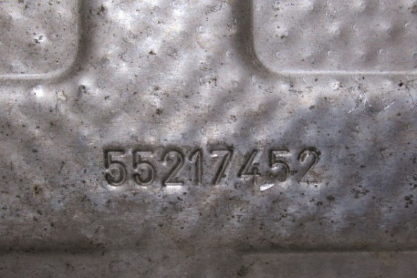 Lancia Musa/Fiat 500 1.3diesel tepelna clona 55217452